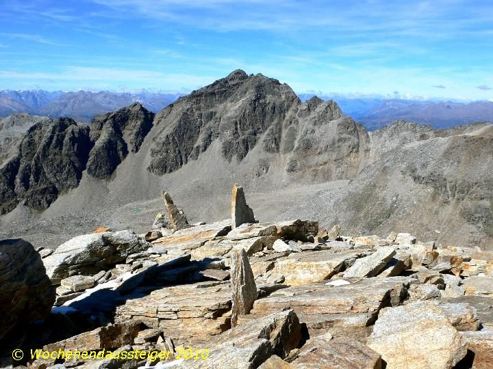 Tschenglser Hochwand (Croda di Cengles) 3.375 m