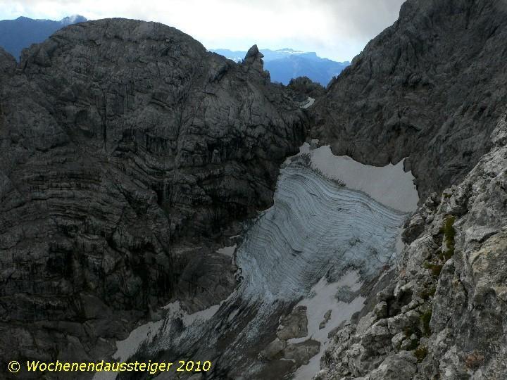 Blaueisgletscher am Hochkalter