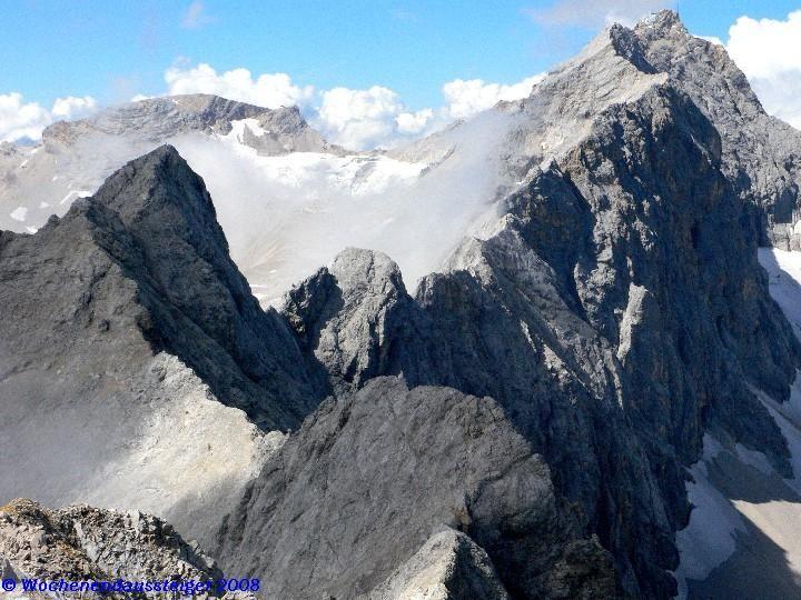 Jubiläumsgrat Richtung Zugspitze