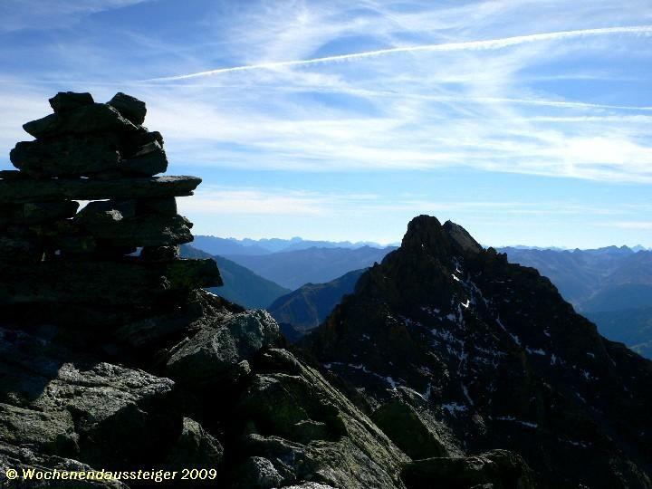 Blick vom Gradötz zur Vorderen Kendlspitze