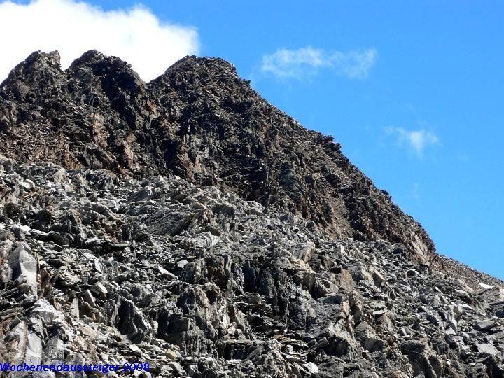 Gipfelbereich Saykogel