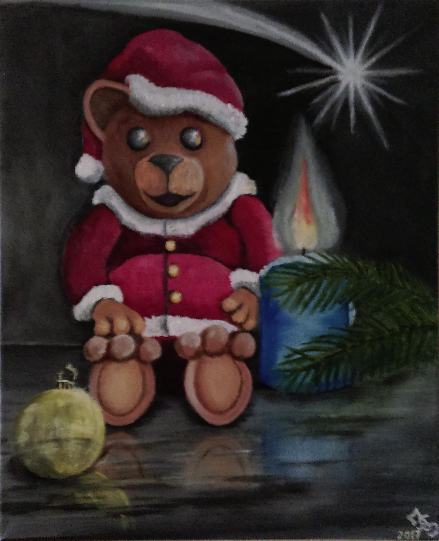 Teddy Clause 40 x 50 cm