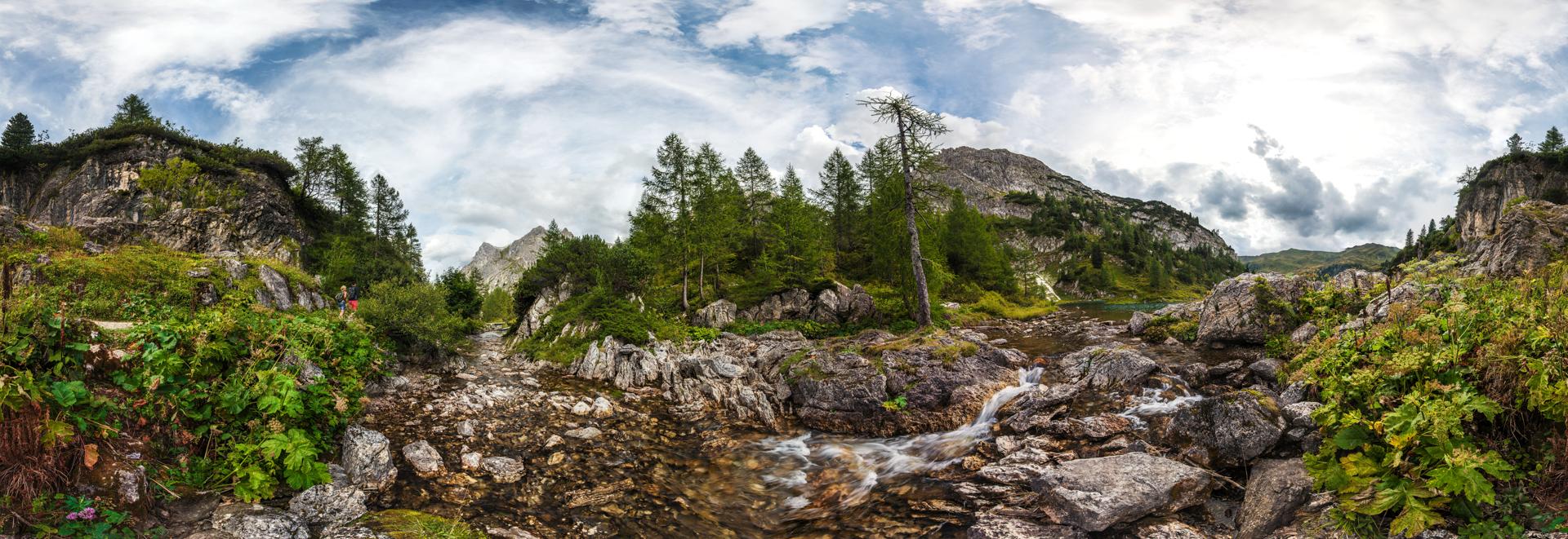Tappenkarsee in Kleinarl in Salzburg