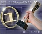 James Bond Dog Hund - Besucher-Award Mai 2013 Griechenland Italien Österreich Spanien