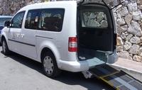Rollstuhlfahrer-Taxi in Fuengirola - Costa del Sol Andalusien Spanien