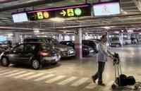 Parkhaus Flughafen Málaga - Costa del Sol Andalusien Spanien