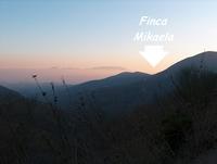 Finca Mikaela in der Abenddaemmerung - Provinz Málaga - Andalusien - Spanien
