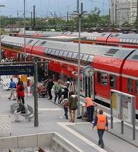 Rosenheimer Bahnhof - Bayern - Deutschland