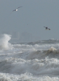 extremer Sturm in Fuengirola - Costa del Sol Andalusien Spanien
