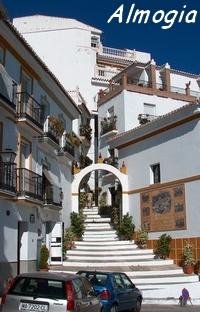 Almogía ein weisses Dorf in der Sierra an der Costa del Sol - Provinz Málaga - Andalusien - Spanien