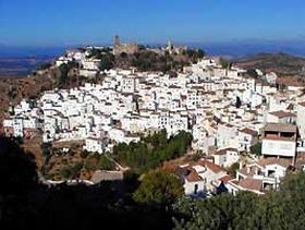 James Bond Hund - Das weisse Dorf - Prado del Rey - Provinz Cádiz - Andalusien - Spanien