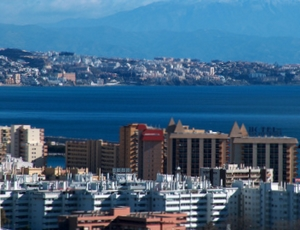 James Bond in Fuengirola Provinz Málaga an der Costa del Sol - Andalusien - Spanien