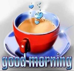 rote Kaffeetasse