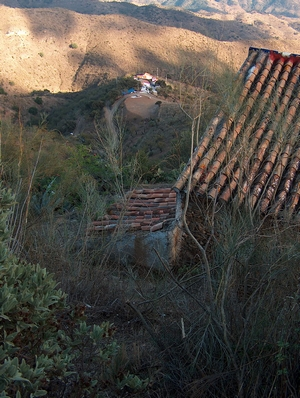 Nachbar-Finca der Finca Mikaela in der Provinz Málaga Andalusien Spanien