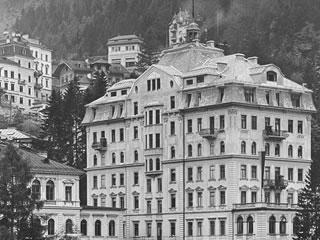 altes Foto vom Hotel Weismayr in Bad Gastein Salzburger Land Österreich