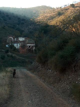 James Bond in der Sierra Mijas an der Costa del Sol in Südspanien