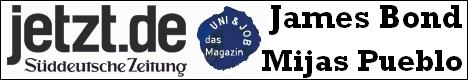 James Bond der Hund der Ideen-Werkstatt FIM Las Palmas in Mijas Pueblo - Süddeutsche Zeitung
