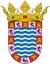 Weisses Dorf Jerez de la Frontera Stadtwappen