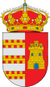 Weisses Dorf Castellar de la Frontera Stadtwappen