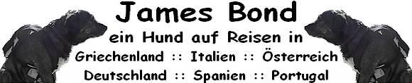 James Bond - Ein Hund auf Reisen in Griechenland - Italien - Österreich - Deutschland - Spanien - Portugal