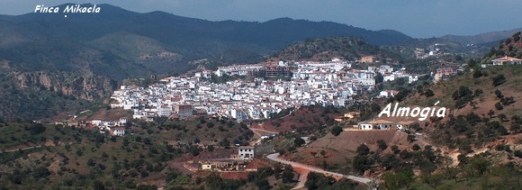 James Bond Finca Mikaela bei Almogía Provinz Malaga in Andalusien Spanien