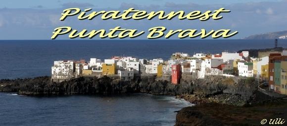 Piratennest Punta Brava Teneriffa Kanaren Spanien
