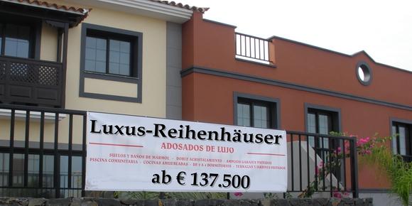 Luxus-Reihenhäuser 50% im Preis reduziert - La Quinta - Santa Ursula Nordwestküste - Teneriffa - Kanarische Inseln - Spanien