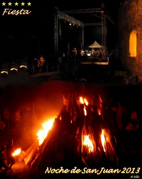 Noche de San Juan - Puerto de la Cruz Teneriffa Kanaren Spanien