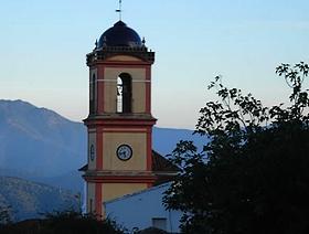 James Bond Hund - Das weisse Dorf - Algatocín - Provinz Málaga - Andalusien - Spanien
