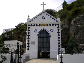 James Bond Hund - Das weisse Dorf - Algodonales - Provinz Cádiz - Andalusien - Spanien