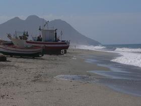 Costa de Almeria - Fischerboote Andalusien Spanien