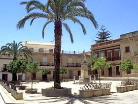 James Bond Hund - Das weisse Dorf - Bornos - Provinz Cádiz - Andalusien - Spanien