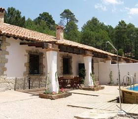 James Bond und das Casa del Guarda in der Sierra de Cazorla Andalusien Spanien
