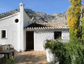 Casa Rural Castril Saluda Alta Casita La  Malena und Casa Estanque - Naturpark Sierra de Castril - Provinz Granada  - Andalusien - Spanien