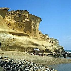 traumhafter Strand Cabo de Gata Almeria Andalusien Spanien