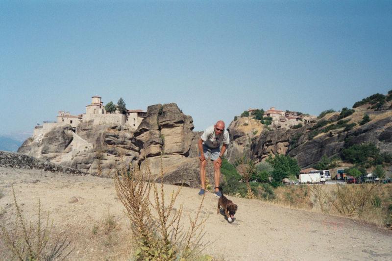 James Bond in Meteora, Griechenland