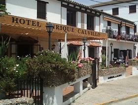 Hotel Enrique Calvillo El Bosque Provinz Cadiz Andalusien Spanien