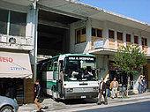 james bond Busfahrt quer durch Griechenland