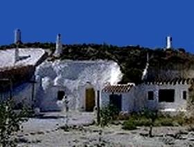 Höhlenwohnungen Al Jatib -  Naturpark Sierra de Baza - Provinz Granada  - Andalusien - Spanien