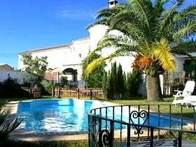 James Bond im Hotel La Zaranda Fuente de Piedra Provinz Malaga Andalusien Spanien