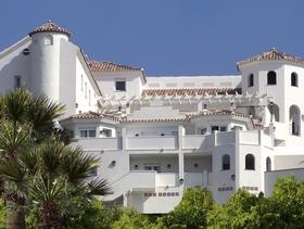 James Bond in der Villa Guadelupe in Málaga Andalusien Spanien
