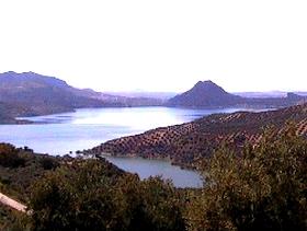 Der See von Iznajar - Provinz Córdoba - Andalusien - Spanien