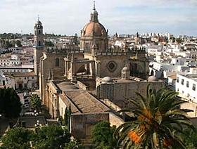 James Bond Hund - Das weisse Dorf - Jerez de la Frontera - Provinz Cádiz - Andalusien - Spanien