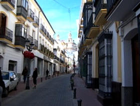 James Bond Hund - Das weisse Dorf - Olvera - Provinz Cádiz - Andalusien - Spanien