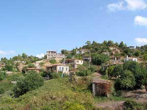 James Bond in Parthenonas auf der Halbinsel Sitonia Chalkidiki Griechenland