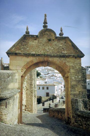 Das Stadttor - Arco de Felipe - von Ronda - Andalusien - Spanien