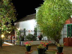 Cortijo la Dehesa del Pilar Setenil de las Bodegas Provinz Cadiz Andalusien Spanien