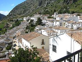 James Bond Hund - Das weisse Dorf - Villaluenga del Rosario - Provinz Cádiz - Andalusien - Spanien
