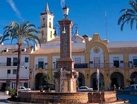 James Bond Hund - Das weisse Dorf - Villamartín - Provinz Cádiz - Andalusien - Spanien