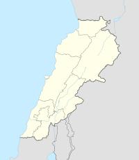 Kamid al Lawz ligt in Lebanon